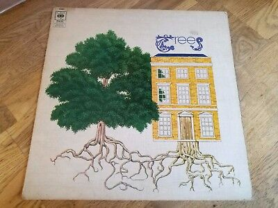 Trees LP Garden of Jane Delawney UK Orange CBS 1st press FULLY PLAYGRADED OOOOOO