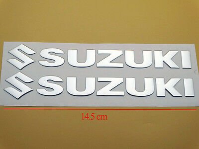 145mm 3D Fuel Tank Fairing Body Badge Emblem Decal Sticker For Suzuki Racing