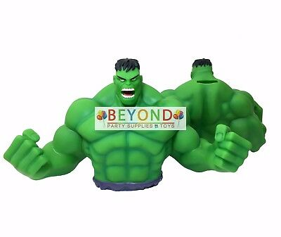 Hulk Bust Bank Money Coin Bank Marvel Piggy Bank 3D Toy Figure  Bank