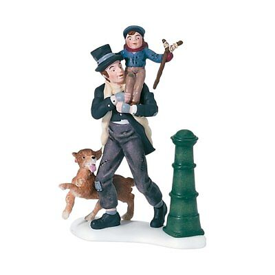 Department 56 Dickens' A Christmas Carol Bob Cratchit And Tiny Tim