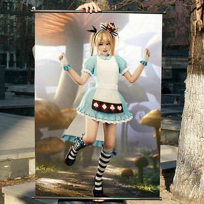 60x90cm Dead Or Alive Xtreme3 Marie Rose Alice Poster Wall Painting Scroll