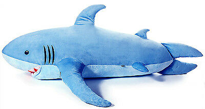71 1 8m Giant Huge Shark Stuffed Animal Plush Soft Toy Pillow Sofa
