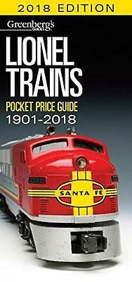 Greenberg's Lionel Pocket Price Guide 1901-2018 Free Shipping
