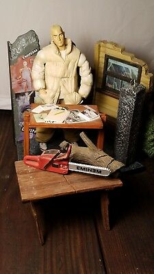 EMINEM MY NAME IS SLIM SHADY ACTION FIGURE lot chainsaw