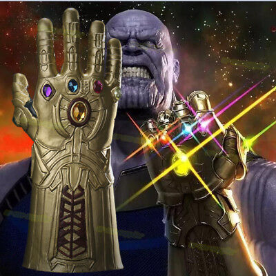 Thanos Infinity Gauntlet Infinity stones Glove Mens Cos Prop Christmas Xmas Gift