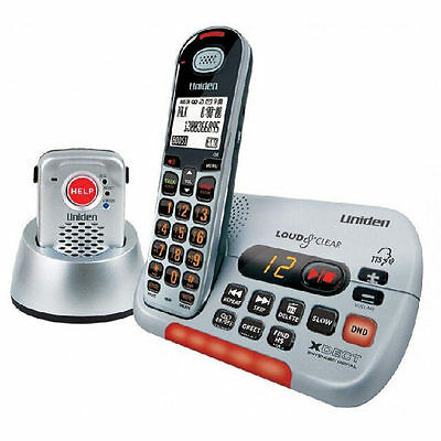 Uniden Sse35+Pendant Visual & Hearing Impaired Cordless Phone System