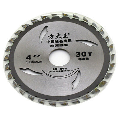 4Inch 30T Circular Saw Blade for Wood Acrylic Metal Cutting Cutter Tool