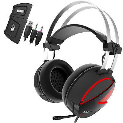 Gamdias Gaming Headset HEBE E1 with USB/3.5mm Jack 40mm Drivers RGB