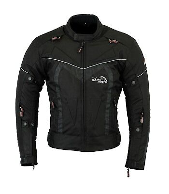 Aircon Motorbike Motorcycle Winter Textile Jacket Waterproof with CE Armours