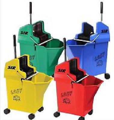 Kentucky Mop Bucket and Wringer, SYR Ladybug ( 15 litre ) 4 Colours
