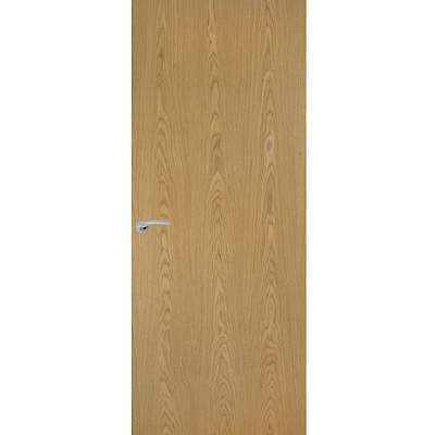 Internal Oak Doors Veneer Flush Vertical Grain Classic Interior