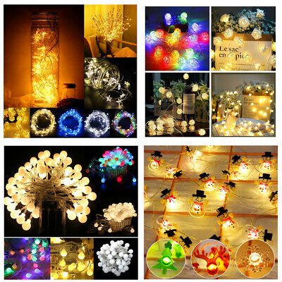 Led Christmas Lights For Room.Led Star Fairy Light String Lights Christmas Room Wedding Decor Birthday Supply