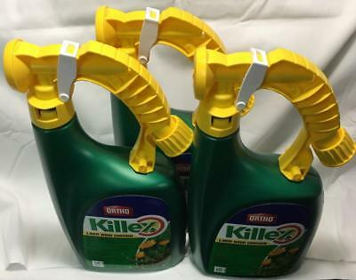 Free Shipping 3 1L Bottles KILLEX Concentrate with Ready to Spray Applicator