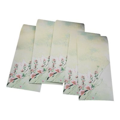 10 Pieces Vintage Chinese Style Vintage Craft Paper Envelope For Letter Pap H1T2