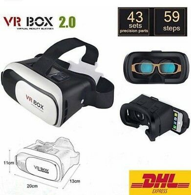 NEU Virtual Reality 3D Brille VR Box 2.0 Gamepad Universal für iPhone Smasung