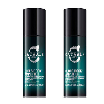 Tigi – Catwalk Curls Rock Amplifier Crema Definizione Ricci 150 ml Formato Co...