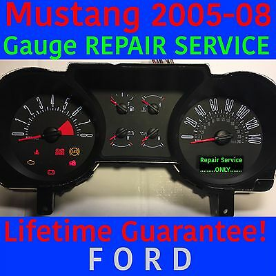 1998 ford mustang instrument cluster problems