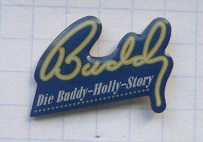BUDDY /  DIE BUDDY HOLLY STORY......................Musical Pin (105f)