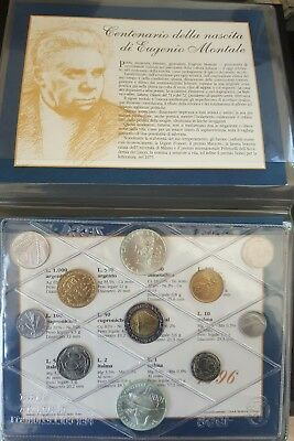 1996 ITALY Complete Official Mint Set Uncirculated....