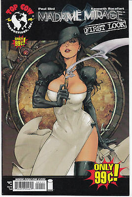 Madame Mirage First Look (2007) 1St Printing Bagged & Boarded Top Cow Comics