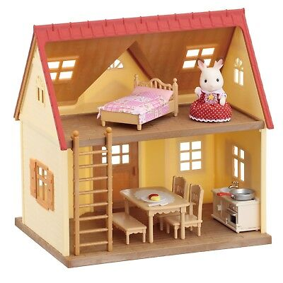 Cosy Cottage Starter Home Set Sylvanian Families Childrens Kids Toy House New