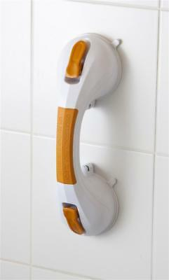 "Drive Medical 12"" Suction Cup Grab Bar with Suction Indicator"