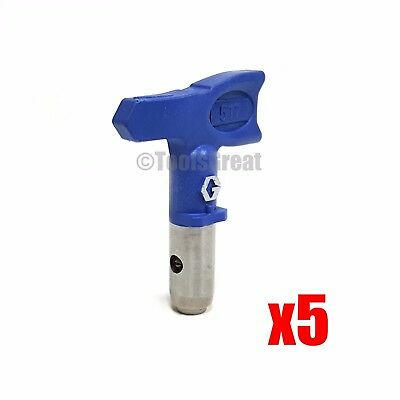 Graco Rac X SwitchTip  LTX517 Latex Paint Spray Tip 517 lot of 5