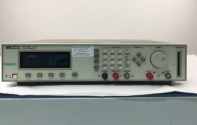 Agilent 8110A 150MHz Pulse Generator with two 81103A output modules- Ships today