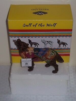 Westland Giftware MIB Call Of The WOLF STATUE Figurine Retired Rare Boots FREE