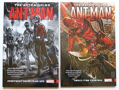 The Astonishing Ant-Man Vol. 1 & 2 NEW Marvel Graphic Novel Comic Book Lot