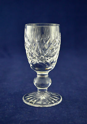 """Waterford Crystal """"DONEGAL"""" Liqueur Glass – 8.3cms (3-1/4″) Tall"""