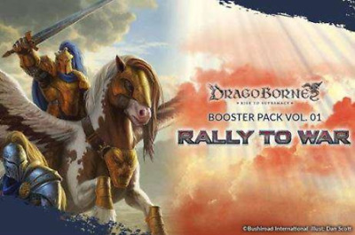 Dragoborne Rise to Supremacy: Rally To War Booster Display Box - English