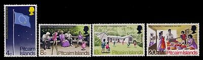Pitcairn Islands 1972 S.Pacific Commission SC# 123-6 Cpl MNH set,CV:$8.15