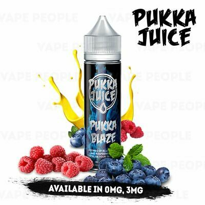Pukka Blaze vape liquid by Pukka Juice - 50ml Short Fill