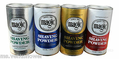 4 x SoftSheen Carson Magic Razorless Hair Remover Shaving Powder