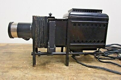 Antique Magic Lantern Bausch and Lomb Electric Balopticon Slide Projector
