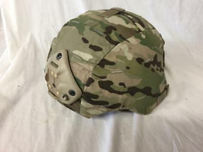 Mich ACH Helmet w/ Multicam Cover & Ops core Chinstrap Norotos - Large
