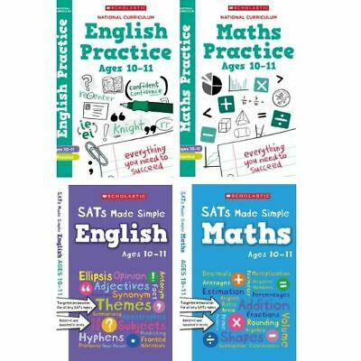 Scholastic Year 6 SATs Revision English & Maths Book Pack (RRP £27.96)