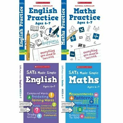 Scholastic Year 2 SATs Revision English & Maths Book Pack (RRP £27.96)