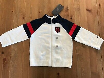 Tommy Hilfiger long sleeve sweater baby boy new with tag