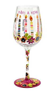 Here's To You Make a Wish Glass (Papersalad) Celebration Wine Gift Party Novelty