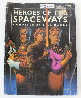 Heroes Of the spaceways book. Includes Dr Who, Star Wars Star Trek  1970,s used
