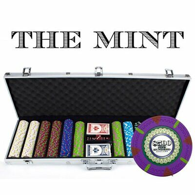 BryBelly Brybelly Brands 600Ct Claysmith Gaming 'The Mint' Chip Set in Aluminum