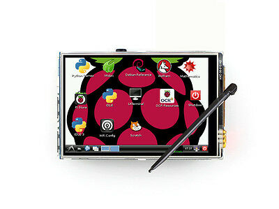3.5'' Touch screen 320*480 LCD Display Board for Raspberry Pi A+B B+ 2B 3B Zero