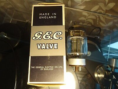 Gec Tt22 British Old Stock Avo Tested Strong Boxed Vintage Valve Tube