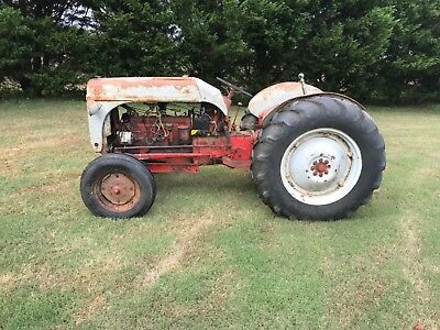 Rare 1951 Ford 8N Tractor FUNK conversion