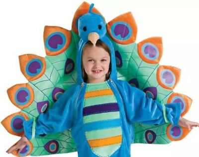 NEW Rubies Costumes Peacock Costume 12 Month - 2T Tropical