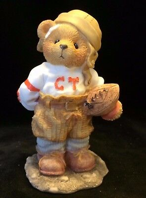 Cherished Teddies Butch #156388 - Can I Be Your Football Hero?