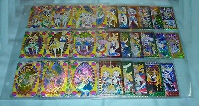 HUGE LOT Sailor Moon Very Rare Prism Sticker Card Sailormoon manga art Naoko T.