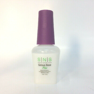 SNS PreBonded Signature Nail Dipping System Gelous Base 15ml Basecoat Coat
